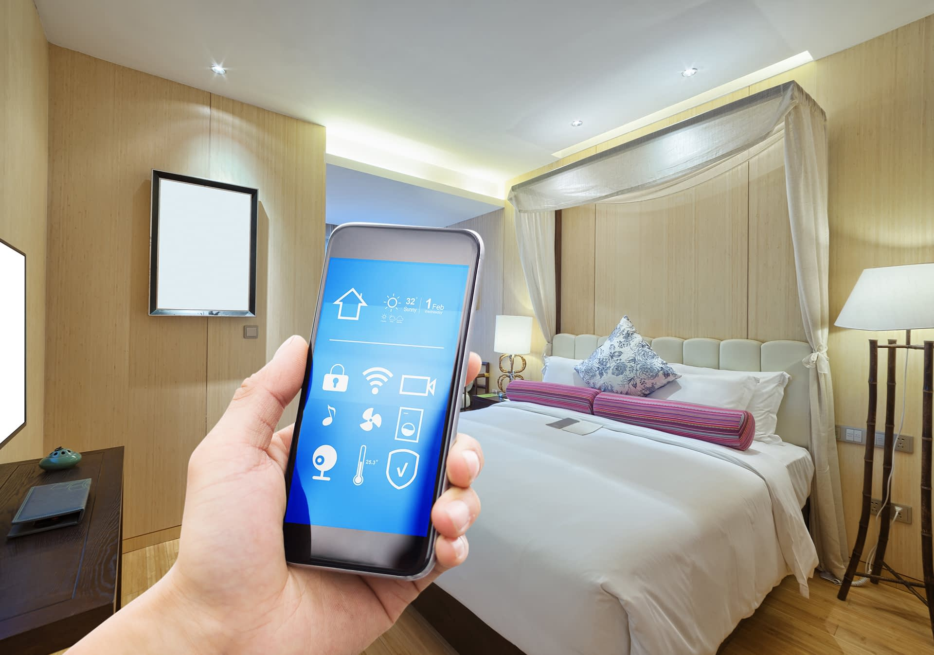 IoT Solutions - Smart Hotel Solutions Image